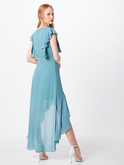 Rochie de seară 'NISHA' TFNC pe albastru deschis: Privire spate