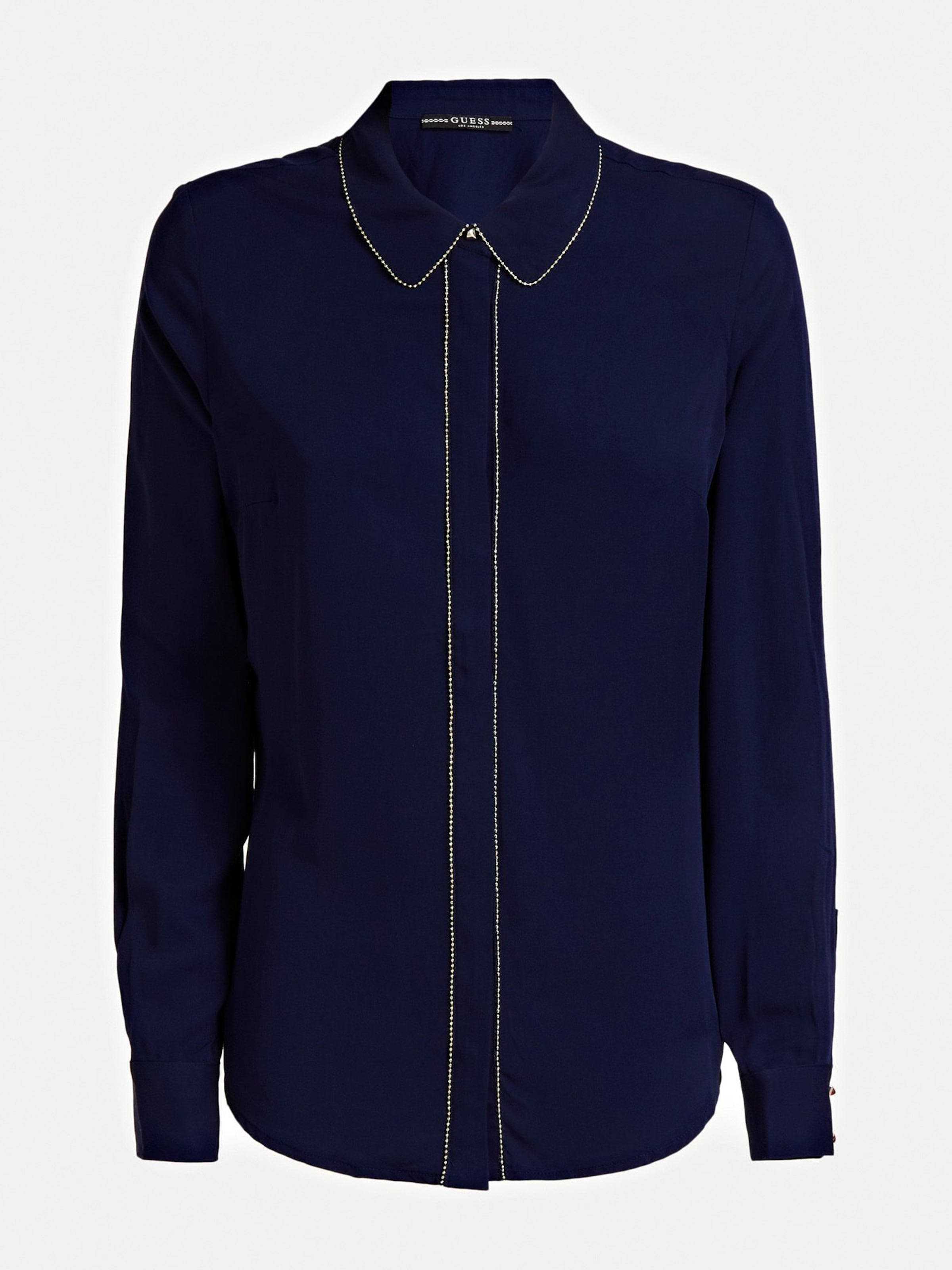 Navy In In Navy Bluse Bluse Guess Bluse Guess Navy Bluse Guess Guess In kPZiwOXuT