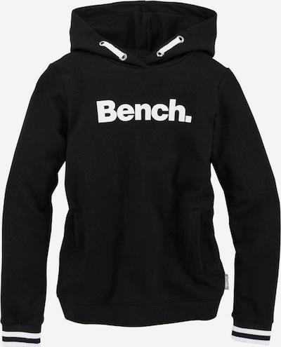 BENCH Kapuzensweatshirt in schwarz, Produktansicht