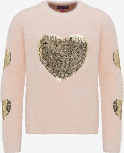 MYMO Pullover in gold / hellpink, Produktansicht