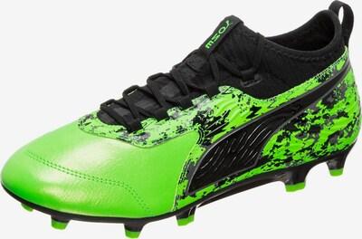 PUMA Fußballschuhe in hellgrün / schwarz, Produktansicht