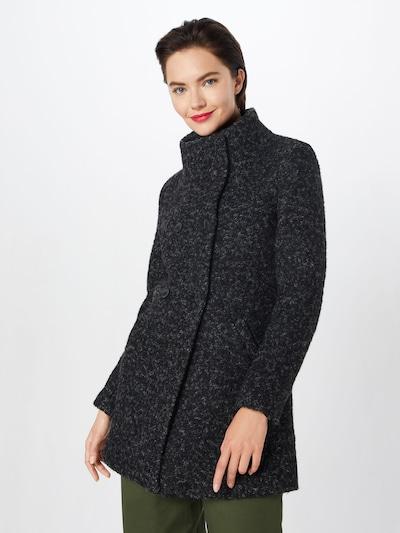 ONLY Bouclémantel 'onlSOPHIA' in schwarz, Modelansicht