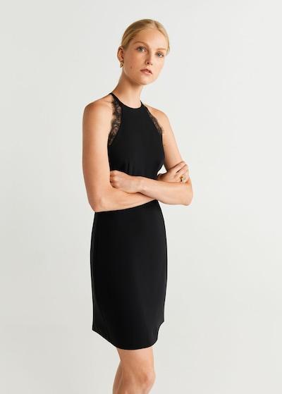 MANGO Kleid 'antonia' in schwarz, Modelansicht