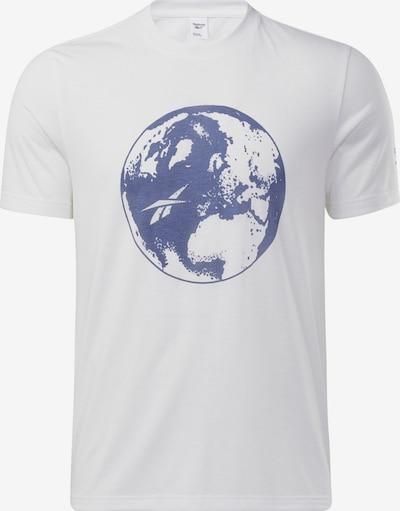 Reebok Classic Shirt in de kleur Blauw / Wit, Productweergave