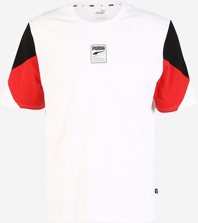 PUMA Sportshirt 'Rebel Advanced' in rot / schwarz / weiß, Produktansicht