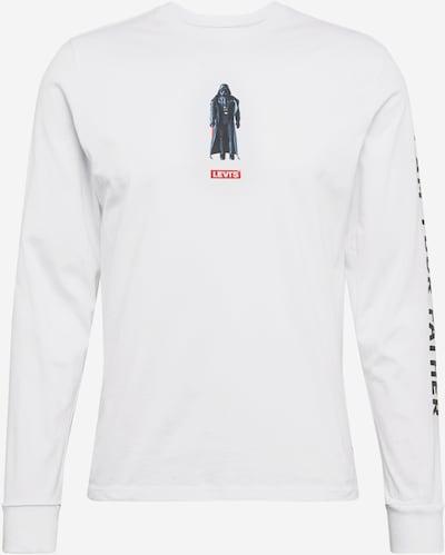 LEVI'S Shirt 'TEE' in weiß, Produktansicht