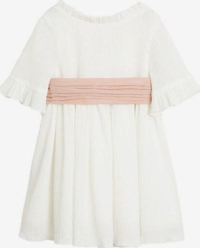 MANGO KIDS Kleid 'Isabella' in weißmeliert, Produktansicht