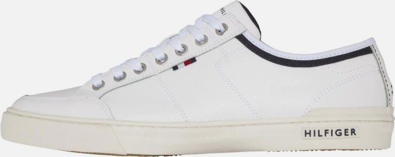 TOMMY HILFIGER LEATHER Sneaker 'CORE LEATHER HILFIGER LACE UP SNEAKER' 9b940d