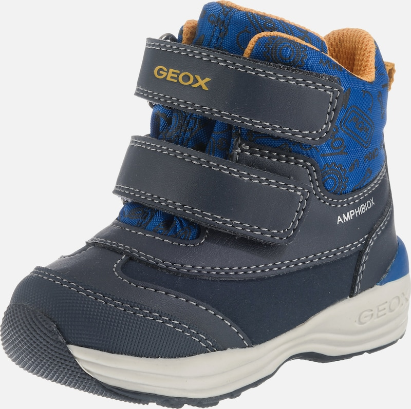 another chance so cheap where to buy GEOX Baby Winterstiefel 'NEW GULP' in blau / dunkelgrau ...