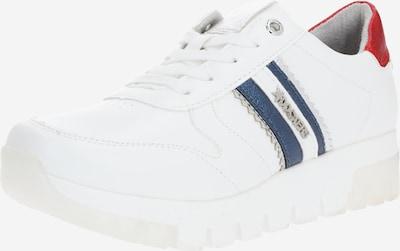 Dockers by Gerli Sneaker in rot / weiß, Produktansicht