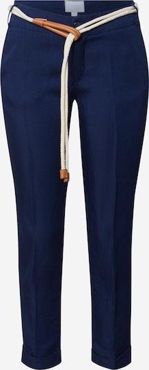 Pantaloni cu dungă La Martina pe navy, Vizualizare produs