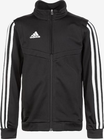 ADIDAS PERFORMANCE Trainingsjacke 'Tiro 19' in schwarz / weiß, Produktansicht