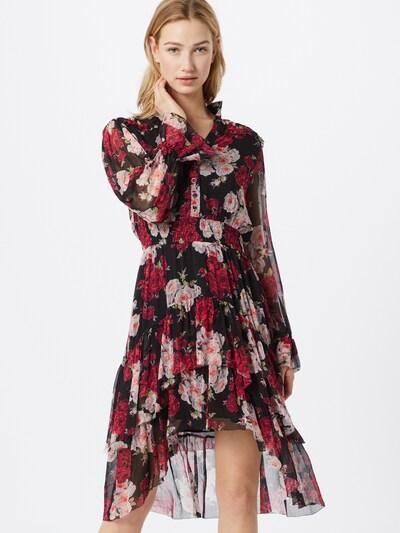 The Kooples Kleid in pink / schwarz, Modelansicht