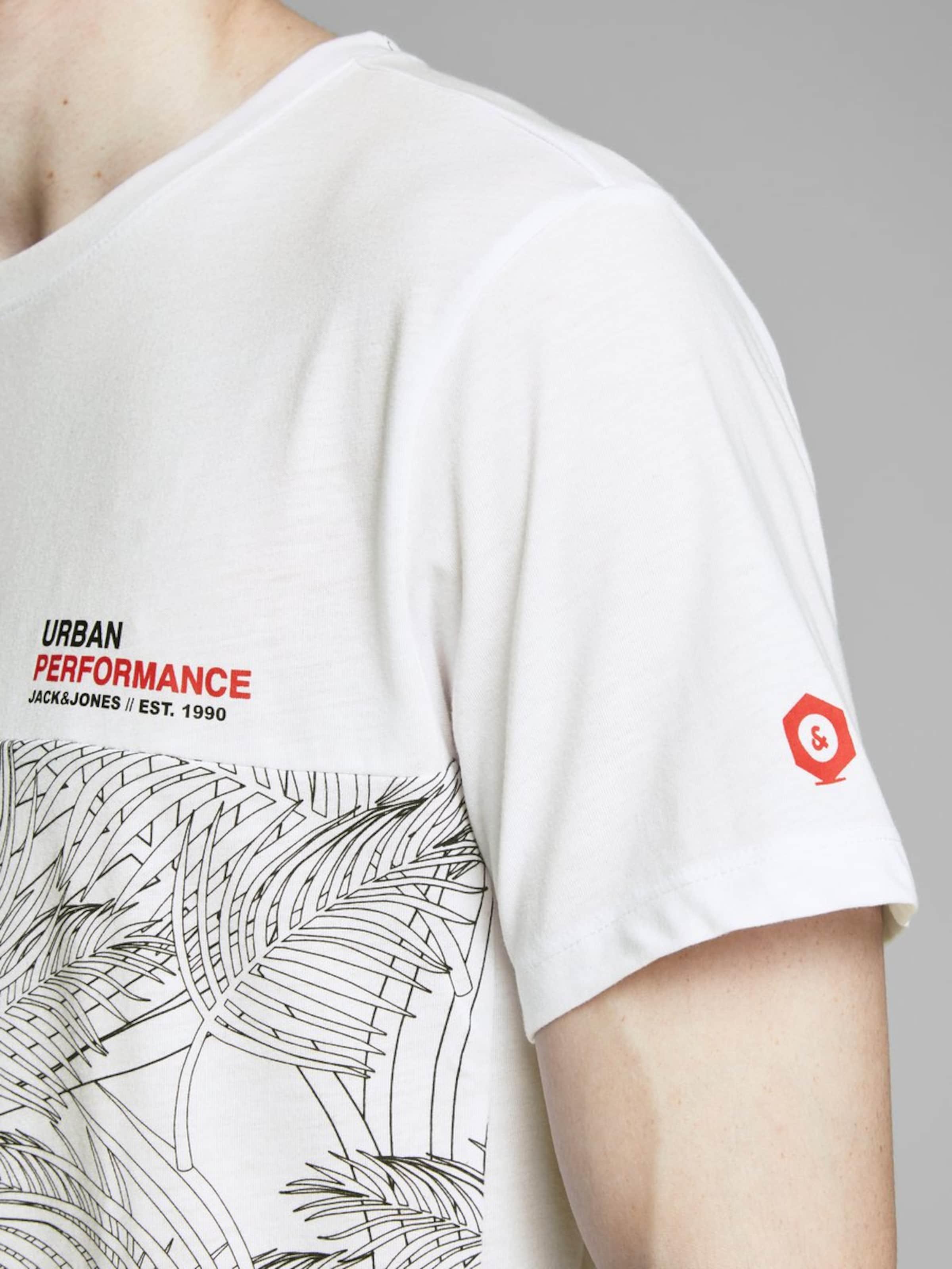 T Jones shirt En GrisBlanc Jackamp; gb67yf