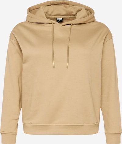 Urban Classics Curvy Sweatshirt in beige, Produktansicht