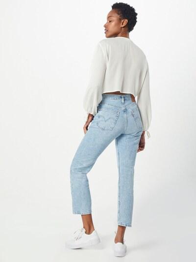 Jeans '501® CROP' LEVI'S pe denim albastru: Privire spate