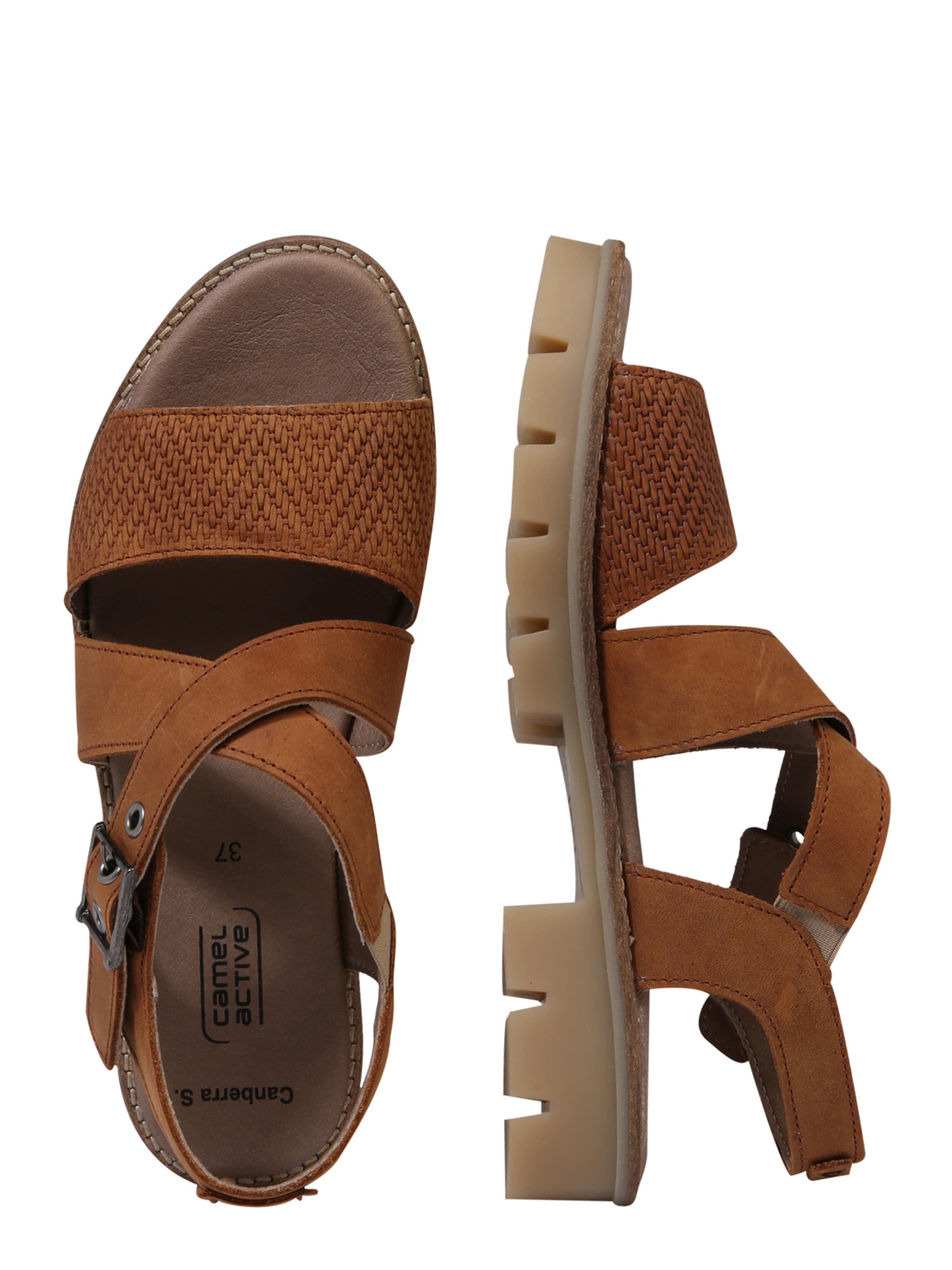 'canberra S71' In Sandale Active Camel Cognac nOPvymN8w0
