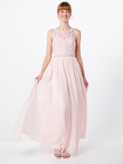 Laona Abendkleid in rosé / silber, Modelansicht