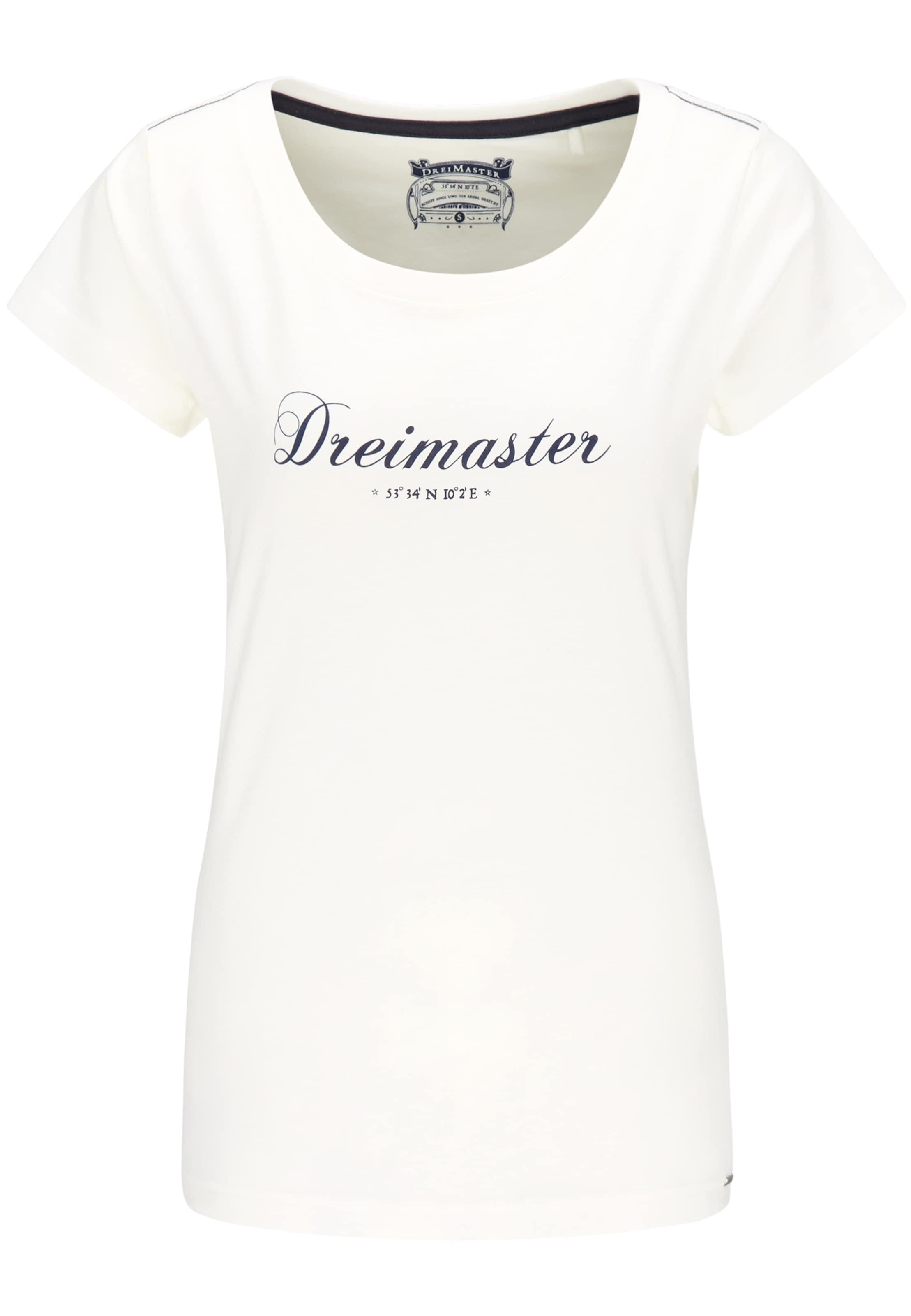En shirt Blanc T En Blanc Dreimaster shirt T Dreimaster A4R35jqScL