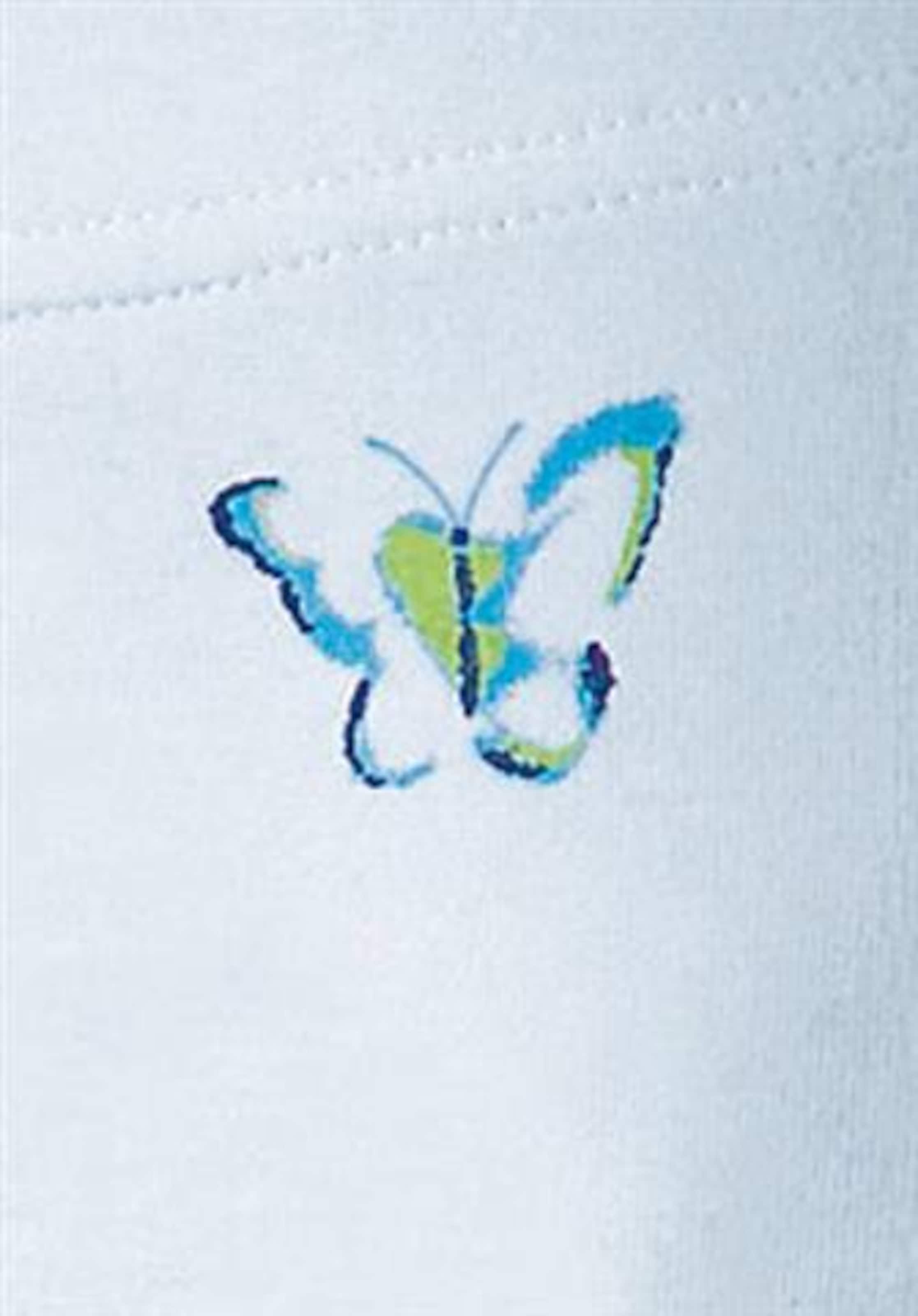 PETITE FLEUR Shapingtrosa 'Bauch weg' i blå / vit