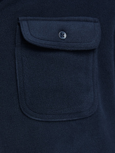 JACK & JONES Hemd in navy: Frontalansicht