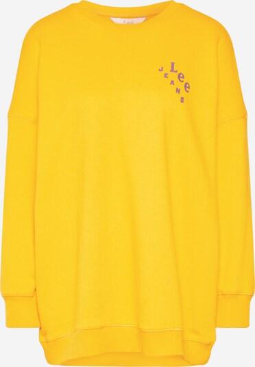 Lee Sweatshirt 'ELONGATED SWS' in gelb: Frontalansicht
