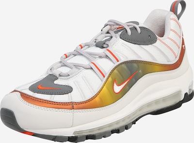 szürke / narancs / piszkosfehér Nike Sportswear Rövid szárú edzőcipők 'Air Max', Termék nézet