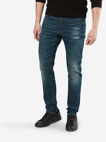 G-Star RAW Jeans '3301 Slim' in Blau