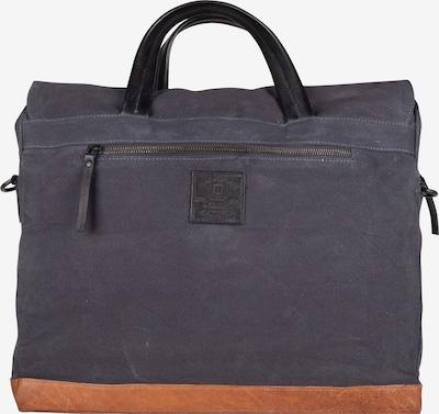 Presly & Sun Laptoptasche 'Diel' in nachtblau / cognac, Produktansicht