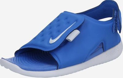 Nike Sportswear Badeschuh 'Sunray Adjust' in royalblau / grau, Produktansicht