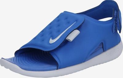 Nike Sportswear Badeschuhe 'Sunray Adjust 5' in blau / grau, Produktansicht