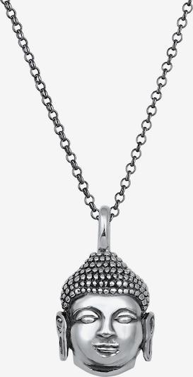 KUZZOI Ketting in de kleur Zwart / Zilver, Productweergave