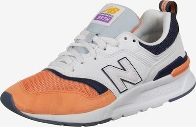new balance Schuhe ' 997 W ' in orange / weiß, Produktansicht