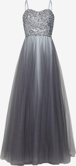 LUXUAR Abendkleid in silbergrau / silber, Produktansicht