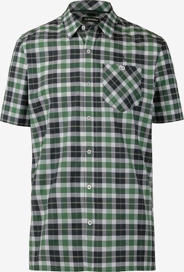 Schöffel Hemd 'Bischofshofen2' in grün / schwarz / weiß, Produktansicht