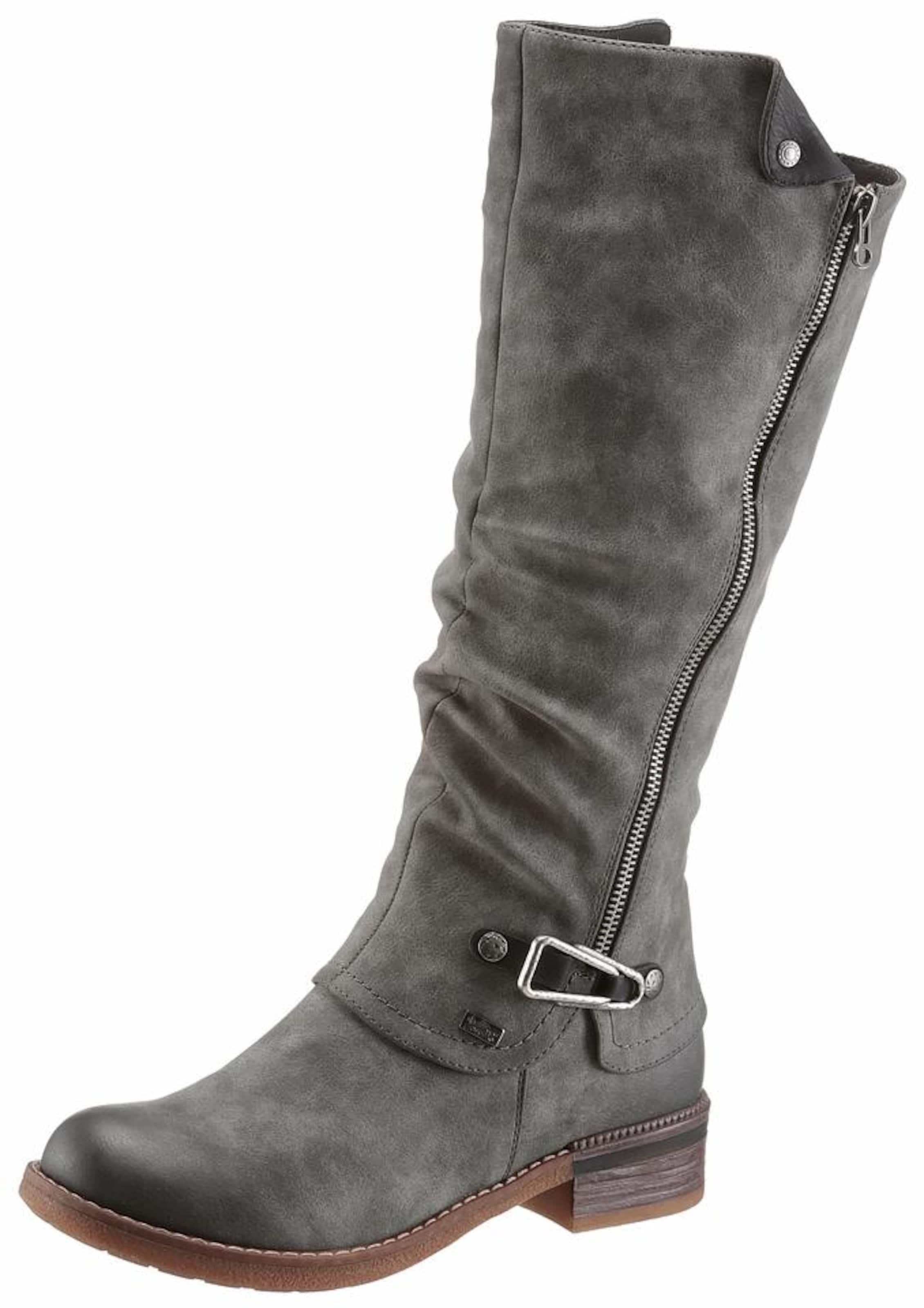 Haltbare Mode billige Schuhe RIEKER | Stiefel aus Kunstleder Schuhe Gut getragene Schuhe