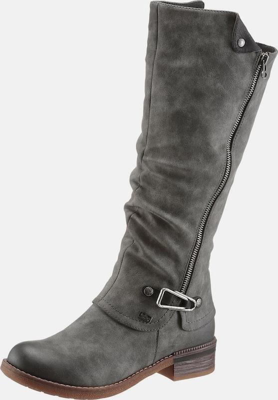 RIEKER | Stiefel aus Kunstleder Kunstleder Kunstleder 0ba97c