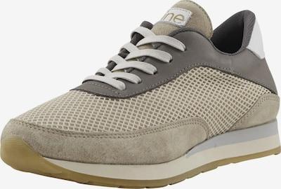 heine Sneaker in grau / taupe / weiß, Produktansicht