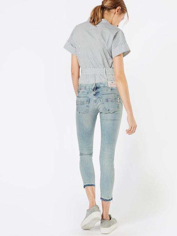Herrlicher Skinny Jeans 'Touch Cropped Denim Powerstretch'