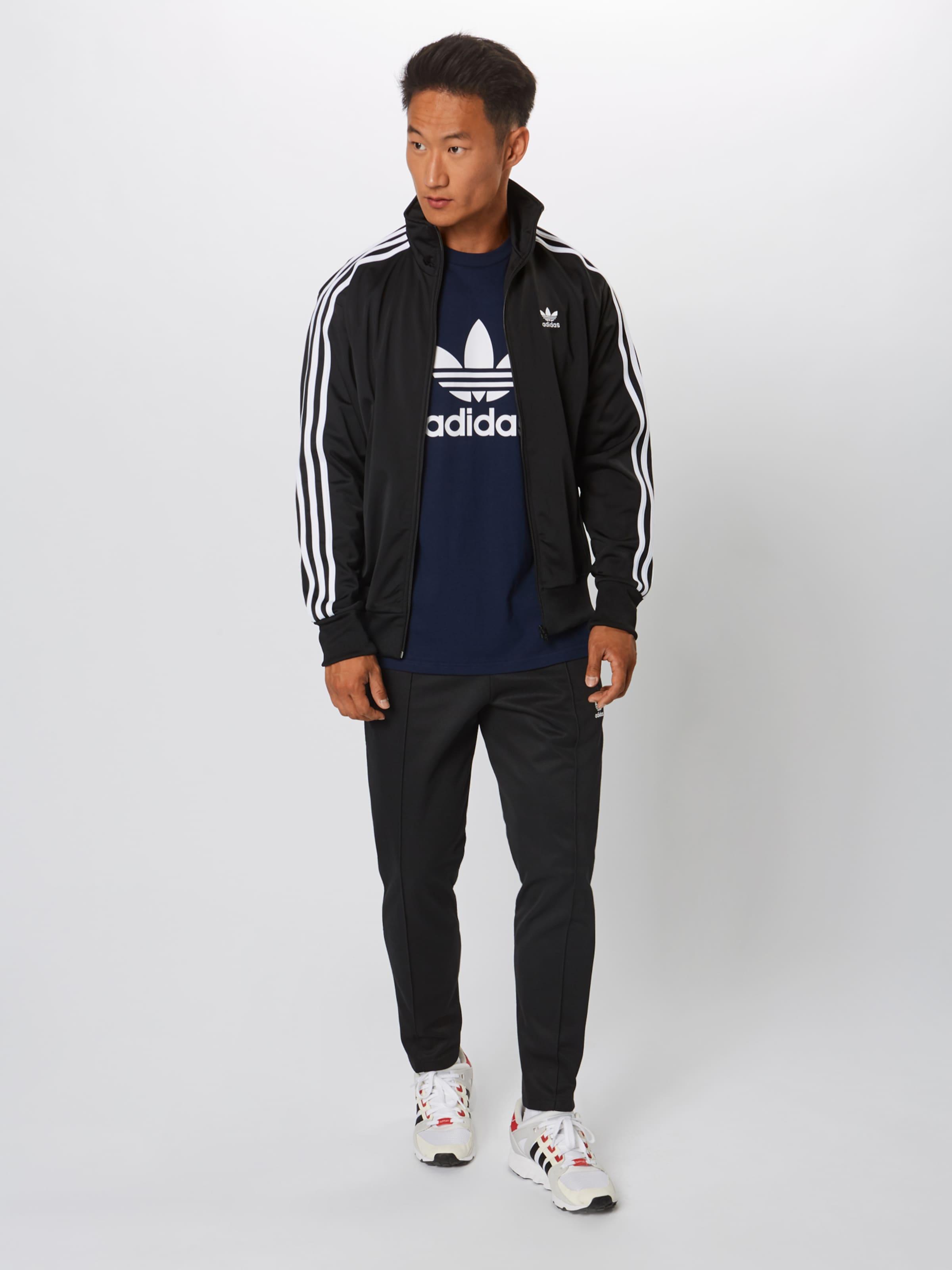 T Originals In shirt NavyWeiß Adidas 'trefoil' D2IH9E