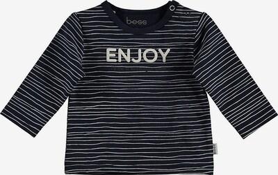 BESS Shirt 'Enjoy' in blau / weiß, Produktansicht