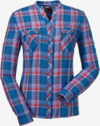 Schöffel Hemd 'Kosai2' in blau / rot, Produktansicht