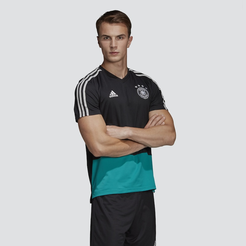 ADIDAS PERFORMANCE Trainingsshirt 'DFB Pre Match' in schwarz