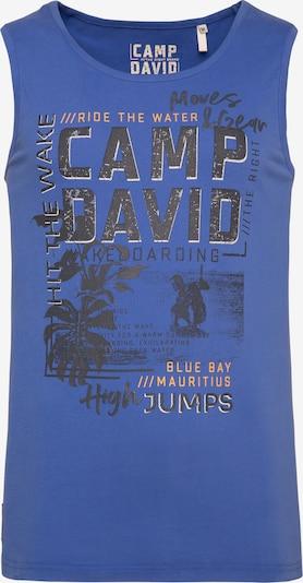 Maglietta CAMP DAVID di colore blu, Visualizzazione prodotti