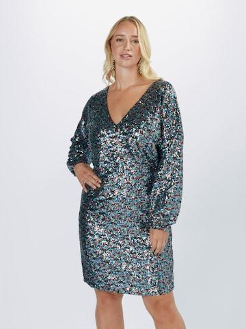 Guido Maria Kretschmer Curvy Collection Šaty 'Miley' - zmiešané farby