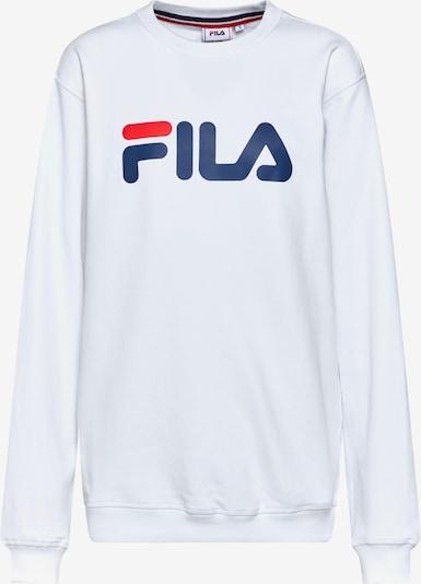 FILA Bluzka sportowa 'PURE Crew Sweat' w kolorze czerwony / czarny / białym, Podgląd produktu
