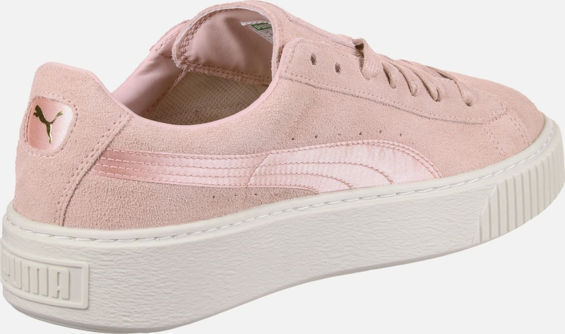 PUMA Satin Sneaker Suede Platform Mono Satin PUMA mit Dämpfung 79528f