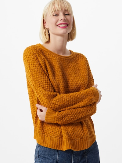 VERO MODA Pulover 'Esme' | karamel barva: Frontalni pogled
