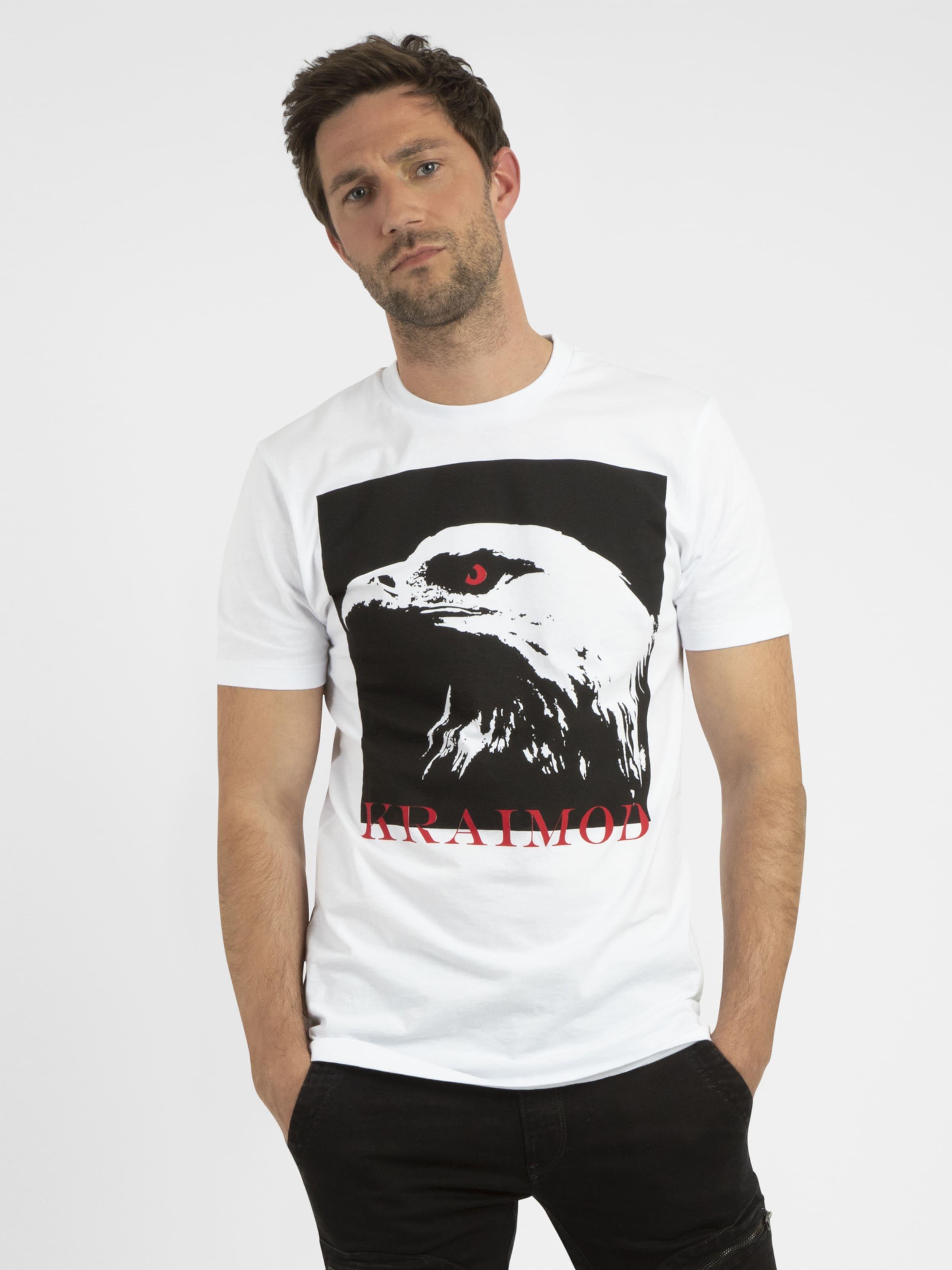 APART Shirt in hellrot / schwarz / weiß Jersey 4053041340716