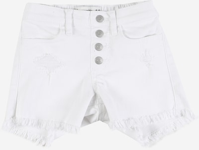 Abercrombie & Fitch Shorts in white denim, Produktansicht
